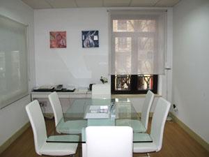 Estudio de arquitectura en Madrid. Maral Arquitectos (sala de reuniones).